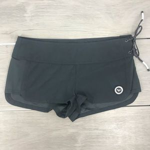 Roxy black shorts with side tie size 7